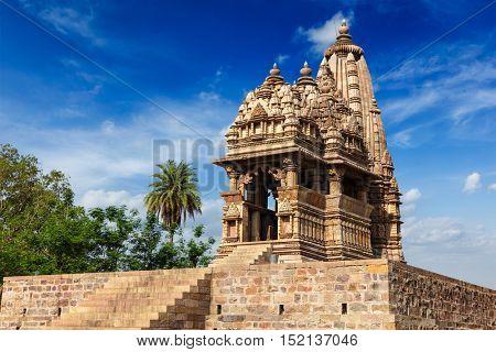 Javari Temple, Khajuraho, Madhya Pradesh, India