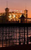 Brighton Pier by night