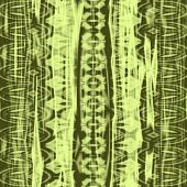 seamless batik green fabric