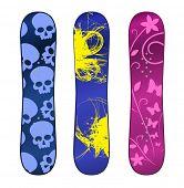 vector snowboard design