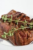 Roasted Beef Dressed With Fresh Thyme