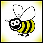picture of bumble bee  - Bumble bee design - JPG