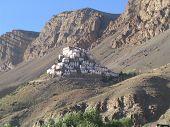 Ki Monastery  From Distance