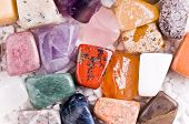 Many Different Natural Stones