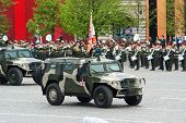 MOSCOW - MAY 6: GAZ-233014