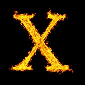 x ,fire letter