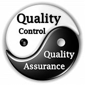 picture of ying yang  - Quality assurance and Quality Control like Ying and Yang are inseparables - JPG