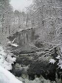 Swollen River, Frosty Day
