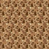 Ilustración de fondo abstracto en distintos tonos de marrón y leonado