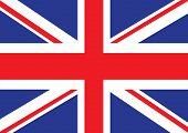 pic of british culture  - Illustrated version of the british flag ideal for a background - JPG