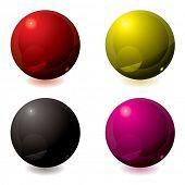 Gel abstrata cheia de botões em diferentes cores ideais para web