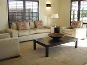Lounge With Louvre Shutters