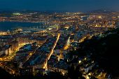 Nightfall In Santurtzi, Bizkaia, Spain