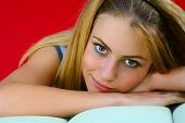 foto of good-looker  - Beautiful teenage girl - JPG