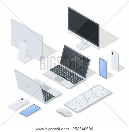 Isometric Projection Vector Set Of
