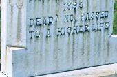 Headstone Saying