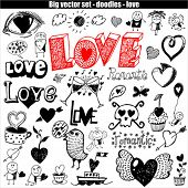 vector set - love