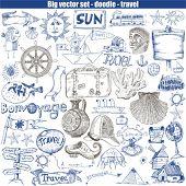 difficult set - doodle - travel