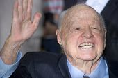 HOLLYWOOD, CA - NOVEMBER 12: Mickey Rooney arrives at the Los Angeles premiere of