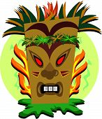 foto of tiki  - Here is an expressive Tiki ready to create - JPG