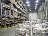 Warehouse Interior, Warehouse Industrial And Logistics Companies. Commercial Warehouse. Boxes And Cr poster