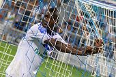 Fc Dynamo Kyiv's Striker Brown Ideye