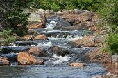 stock photo of paysage  - river water natur forest green riviere paysage landscape  - JPG