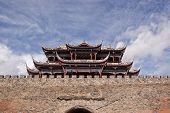 Chinese City Gate Tower