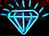 Neon Diamond Jewelry Sign