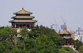 Jingshan Park Pavilions Beijing, China