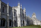 Stock Photo Mosteiro Dos Jeronimos In Belham Lisbon