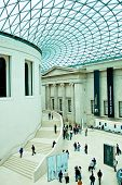 Editorial use - Great Court of British Museum