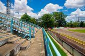 pubic stadium