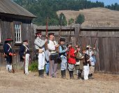Fort Ross Bicentennial Weekend. Shooting Of The Old Muskets .
