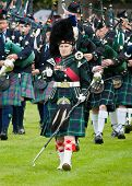 Scottish pipe band leader