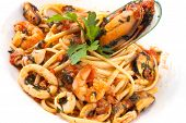 Italian Pasta Plate