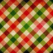 Vintage Tablecloth Pattern