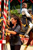 a squire at the royal joust