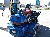Biker Gas Stop