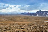 Near Langjokull Glacier, Iceland