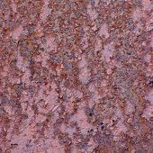 Rust Metal Surface Texture, Old Weathered Rusted Corroded Stained Metallic Plate, Rusty Textured Cor poster