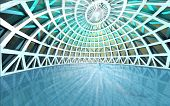 Amazing Spiritual Architectural Swiming Pool Dome