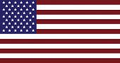 stock photo of usa flag  - USA flag texture - JPG