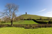 Glastonbury Tor, Somerset, Inglaterra