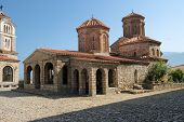 the church of Sveti Naum on lake Ohrid, Republic of Macedonia