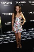 LOS ANGELES - AUG 4: Vail Bloom at the World Premiere of Takers, held at the Arclight Cinerama Dome