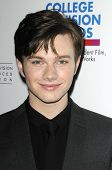 LOS ANGELES - APR 10: Chris Colfer at the Academy of Television Arts & Sciences celebration of the 3