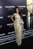 LOS ANGELES - AUG 4: Koyna at the World Premiere of Takers, held at the Arclight Cinerama Dome in Lo