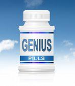 Genie-Pillen.