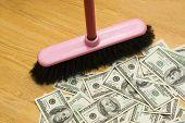 Broom, Dollars, One